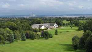 Dewstow GC: the clubhouse