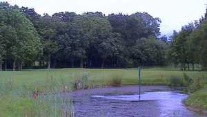 Pond at Poulton Park