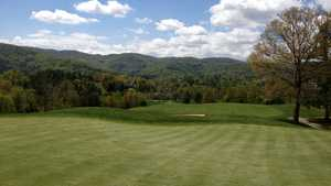 Reems Creek GC: 13th green