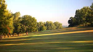 1st hole at Uxbridge Golf Club