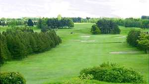 Tree-lined fairways at Bradford
