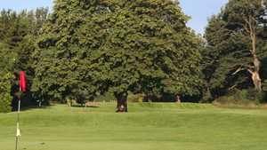 18th green at Eastham Lodge