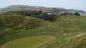 16th and 17th greens at North Wales Golf Club