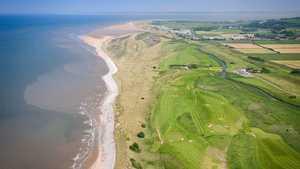 View high above Prestatyn Golf Club