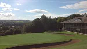 The clubhouse at Shirehampton