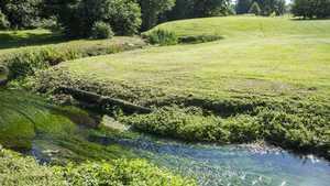 A water hazard at Crane Valley