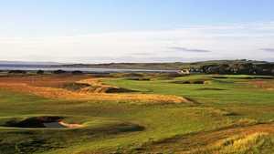 1st hole at Craigielaw Golf Club.