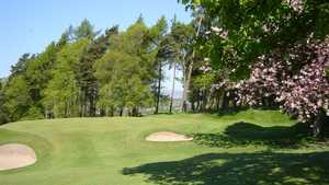 14th green at Dunblane New GC