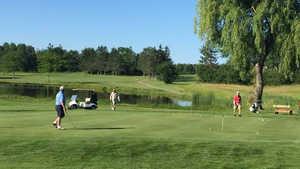 Hermon Meadow GC: Practice area
