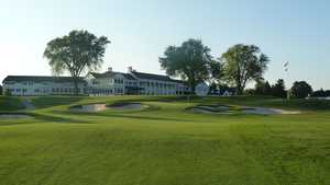 Oakland Hills CC: Clubhouse