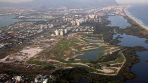 Rio Olympic Course: Aerial view