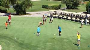Seven Springs CC: Practice area