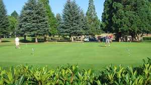 Rock Creek CC: practice area
