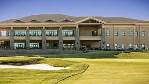 Galloping Hill GC: Clubhouse