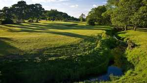 The 15th tee of the Nicklaus course