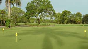 Royal Palm CC: practice green