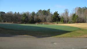Denson's Creek GC: putting green