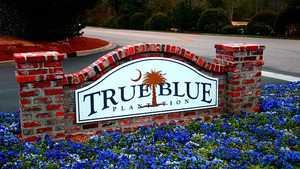 True Blue Plantation sign