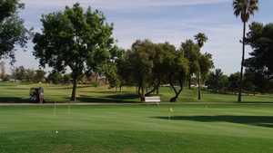 Union Hills CC: putting practice green