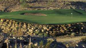 TPC Las Vegas' 2nd green
