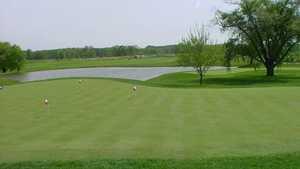 Clover Valley GC: Practice area