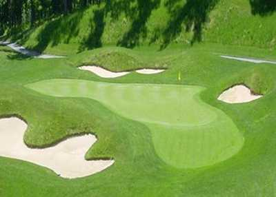 how to build a golf course green