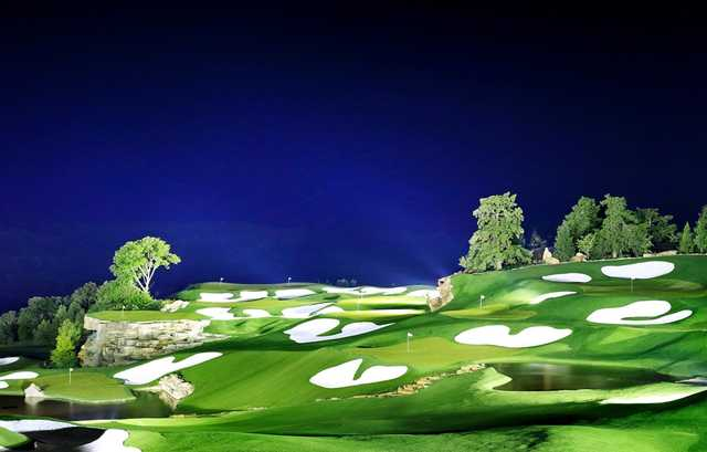 top of the rock golf course in hollister missouri usa