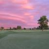 Oakwood CC: practice green