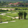 Orange County National - Crooked Cat: #9 & clubhouse