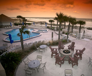 Enjoy 3 Rounds and 3 Nights at The Courtyard By Marriott Oceanfront