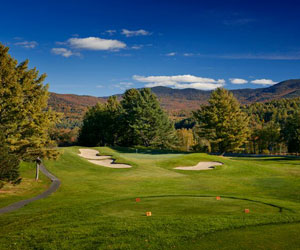 Give The Gift of Golf at Stowe Mountain Lodge
