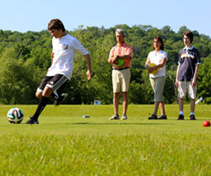 FootGolf & Stay at Crystal Springs
