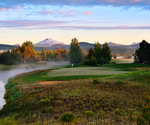 Sunriver Resort's Unlimited Crosswater Golf Package